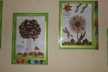 Виставка дитячих робіт Осінь в гості завітала